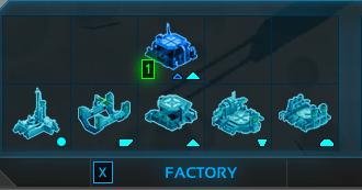 Construisez le lanceur (tout à gauche)