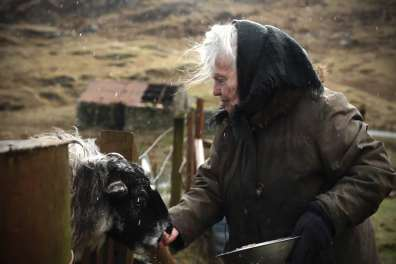 A still from the film Scottish Cailleach
