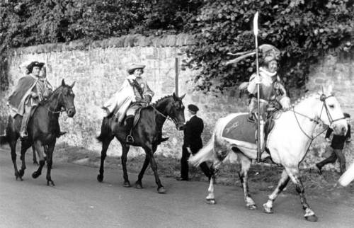 Riding of the Marches 1932 east lothian Lùnastal