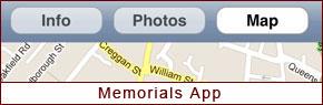 CAIN Memorials App