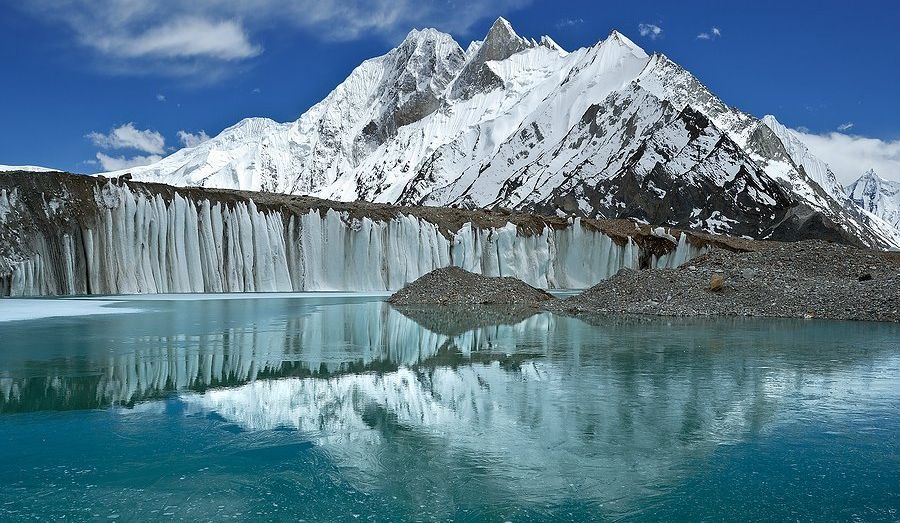 Map And Photographs Of The Baltoro Glacier Region Of The