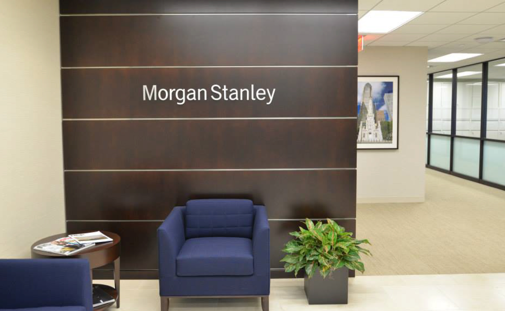 Morgan Stanley  Investment Office Space Millwork Project