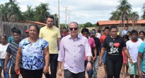 FOTO 4 10 - Hildo Rocha inaugura moderno sistema de abastecimento de água na Aldeia Três Irmãos, em Barra do Corda - minuto barra