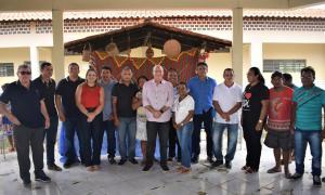 FOTO 6 - Hildo Rocha inaugura moderno sistema de abastecimento de água na Aldeia Três Irmãos, em Barra do Corda - minuto barra