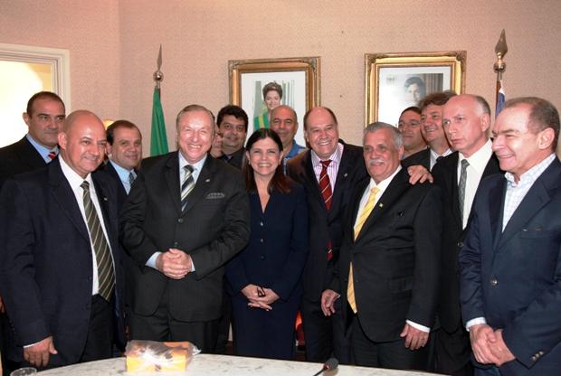 Foto 1 Governadora Recebe Lideres do PSDC Foto Geraldo Furtado