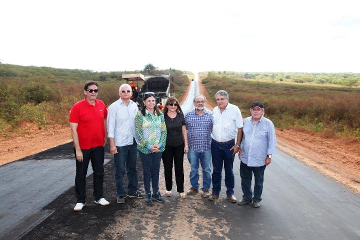 Foto 1 governadora em matões foto Handson Chagas