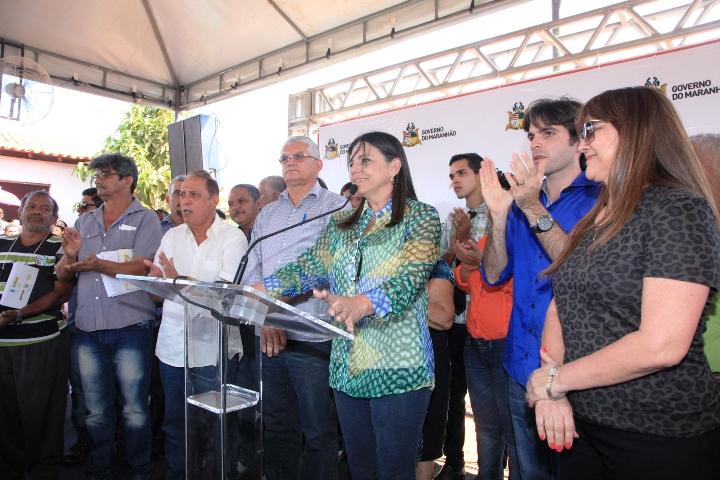 Foto 2 governadora em matões foto Handson Chagas
