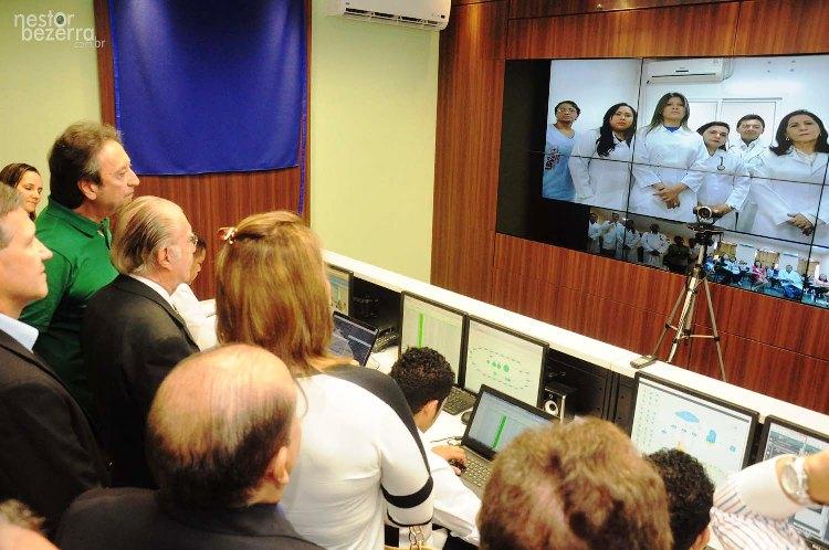 Inauguração Ses Visita do Senado José Sarney Foto Nestor Bezerra (262)