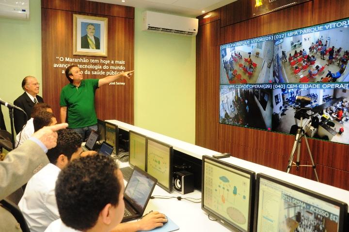 Inauguração Ses Visita do Senado José Sarney Foto Nestor Bezerra (319)