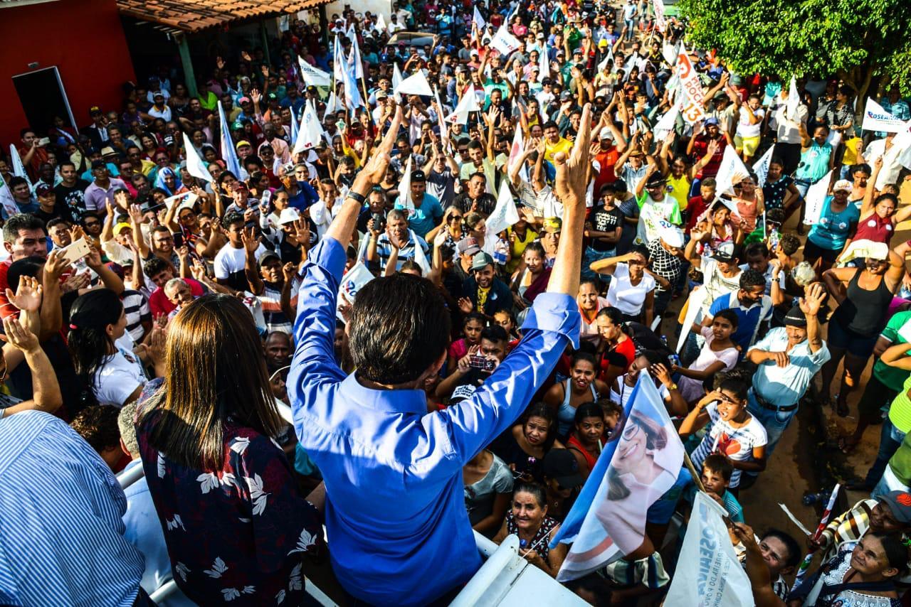 """Lobão declara """"estou empenhado para que todas as ruas de São José de Ribamar sejam asfaltas"""""""
