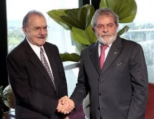 Luiz Inacio Lula da Silva, Jose Sarney