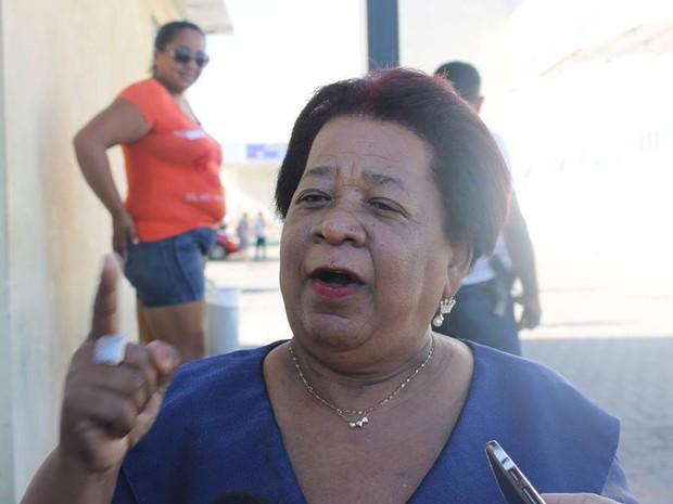 Vilma Alves defende castração dos suspeitos de estupro coletivo (Foto: /Arquivo pessoal/Priscila Caldas)