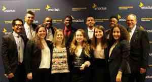 Cairn University Enactus regional champions