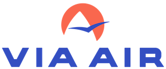 via air logo our client