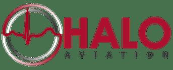 halo aviation logo