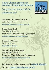 Spring Concert Dumfries featuring The Galloway Agreement @ Theatre Royal