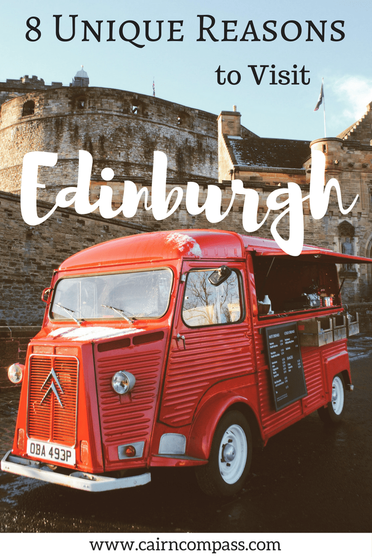 We already know that Edinburgh is a travel destination, but what about all the little things that make it extra special? The city is full of quirky and unexpected charms! So here are the 8 Unique Reasons to Visit Edinburgh.