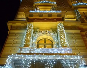Lovely lights help Budapest sparkle at Christmas time! Just stroll down Andrassy Avenue, mulled wine in hand, at stop at some of the best Christmas Markets in the city!