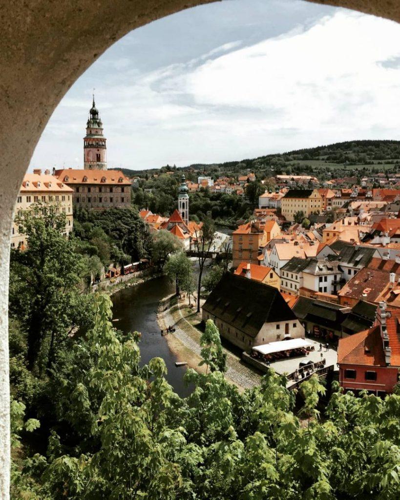 Castle View in Cesky Krumlov