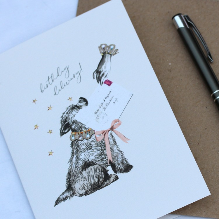 Cairn Terrier Happy Birthday Card