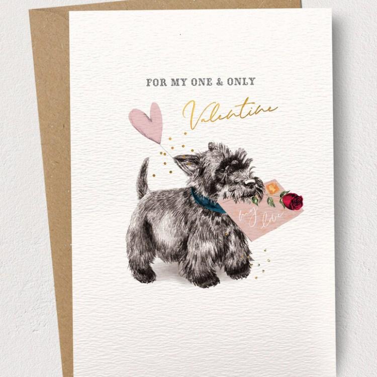Cairn Terrier Valentine's Day Card