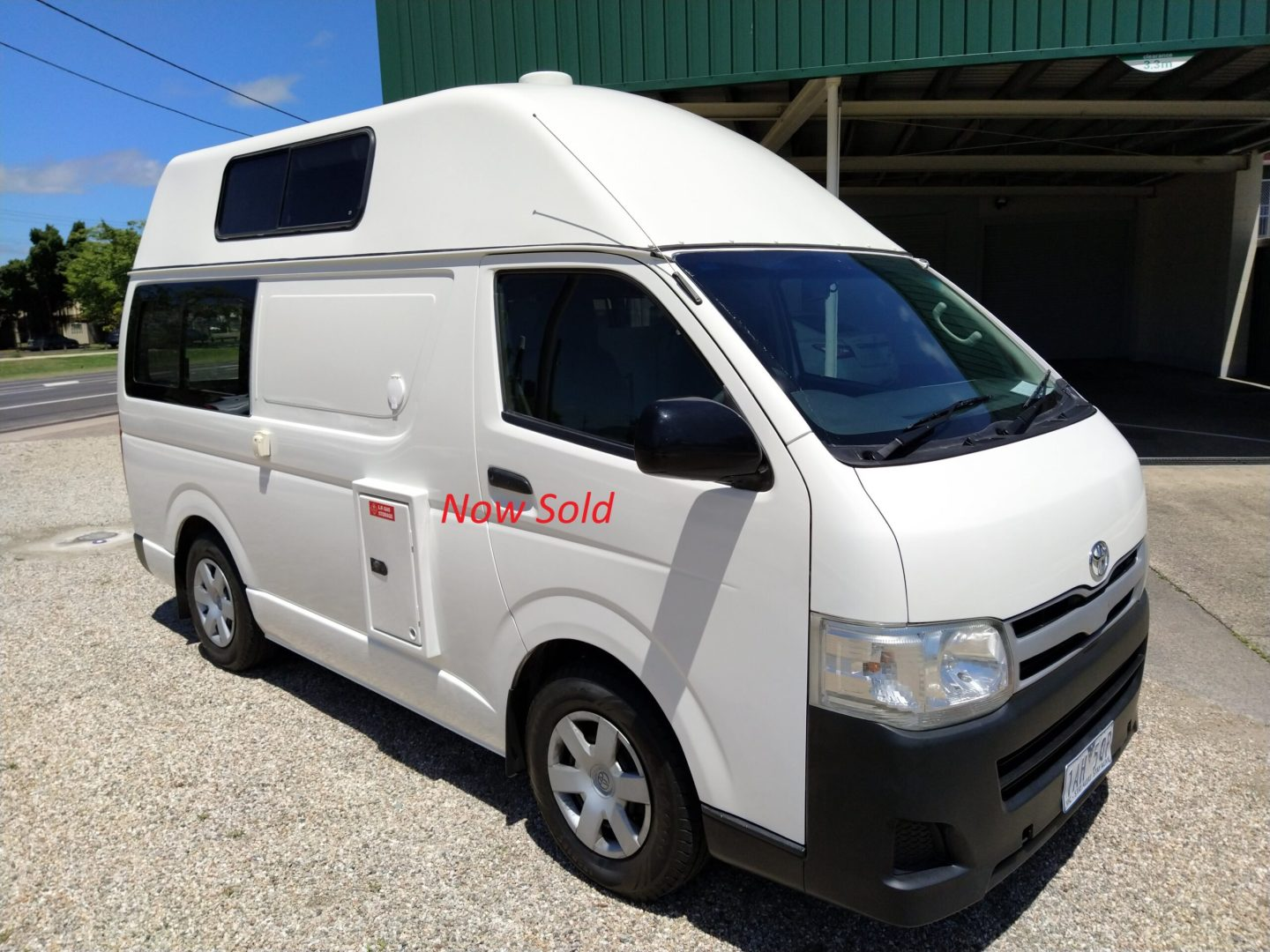 2013 Kea HiTop Toyota T490 2 Berth now SOLD