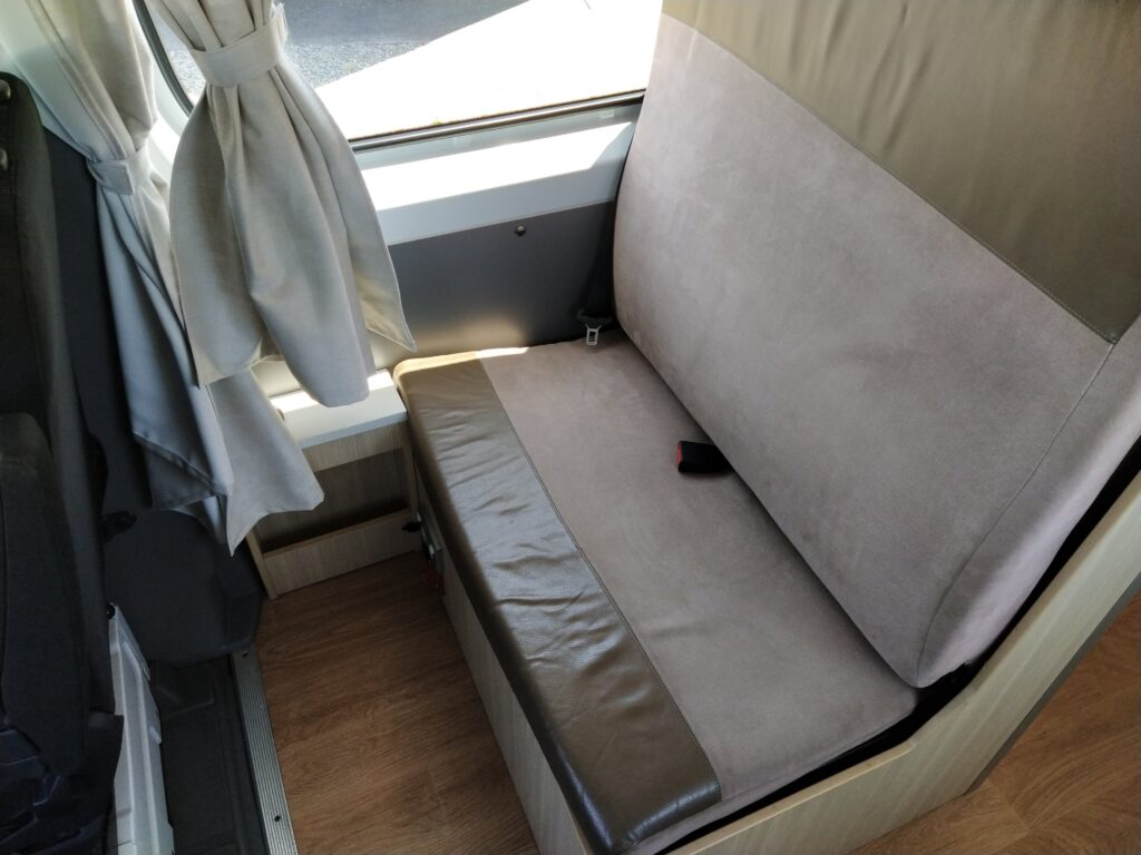 3rd Seat converts to single bed