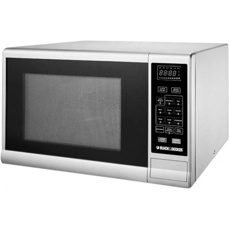 black decker microwave oven with grill 30 l mz3000pg