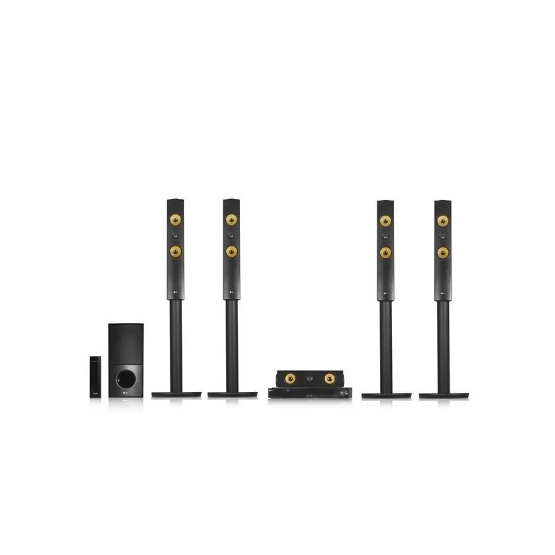 LG BLU-RAY HOME THEATRE SYSTEM 1200 WATT WIRELESS REAR