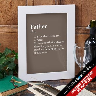 dictionary-definition-print-father