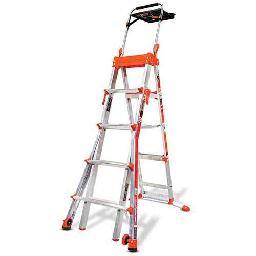 adaptive step ladder with