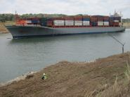 View from one of our quarries of the Panama Canal