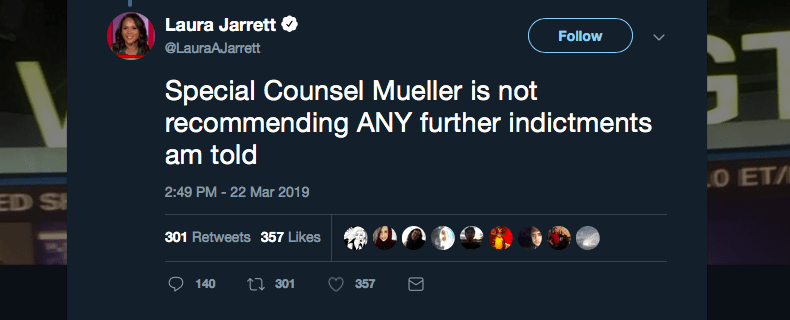 The Mueller Report Is In  They Were Wrong  We Were Right