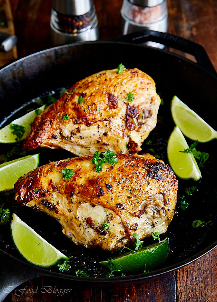Pan-Seared Oven Baked Chicken Breast Recipe - i FOOD ...