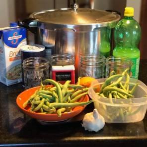 Ingredients for Lemon-Garlic Green Beans