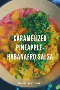 Caramelized Pineapple-Habanero Salsa