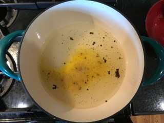 Pickling brine to make Easy Bread & Butter Pickles