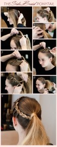 No-Heat Holiday Party 'Do: The Side Braided Ponytail: http://www.stylebistro.com/Hair+How+To/articles/3LGl8SiBzyk/No+Heat+Holiday+Party+Side+Braided+Ponytail