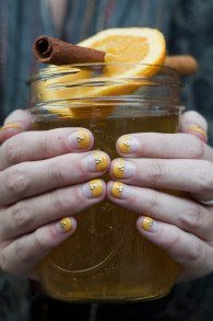 Sips and Tips: The Hot Swede Cocktail + The Crop Top Manicure: http://www.stylebistro.com/Nails/articles/6S5hWxHAdvB/Sips+Tips+Hot+Swede+Cocktail+Crop+Top+Manicure