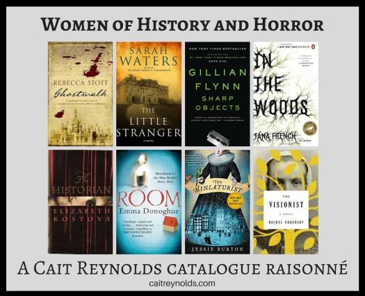 women authors history horror fiction cait reynolds catalogue raisonne