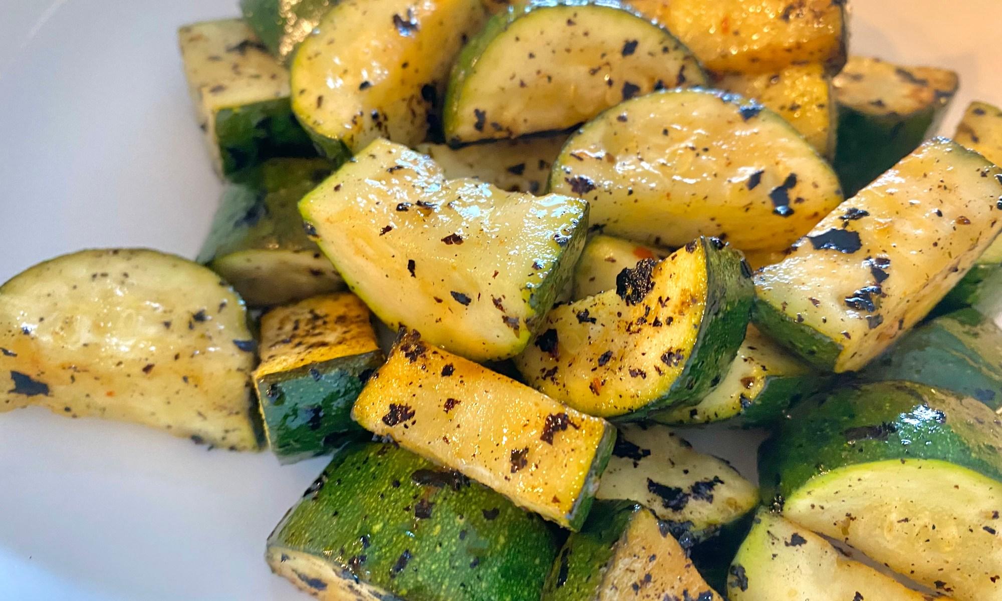 Best Grilled Zucchini Recipe