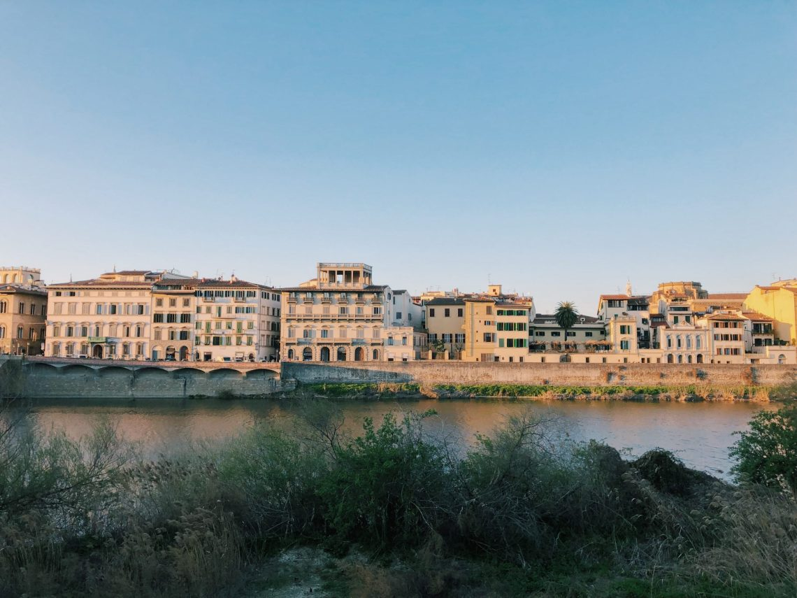 a self-guided walking tour of florence, italy