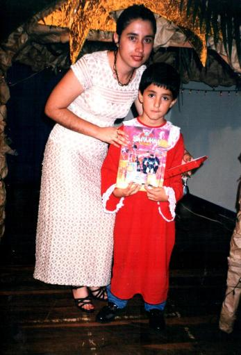 formatura do prézinho, em 1997.