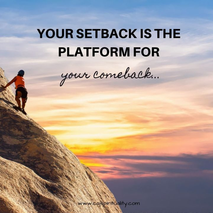 Setbacks: How to Handle Unexpected Setbacks in Your Life Without Giving Up