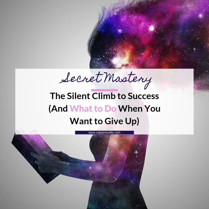 Secret Mastery: The Silent Climb to Success (And What to Do When You Want to Give Up)