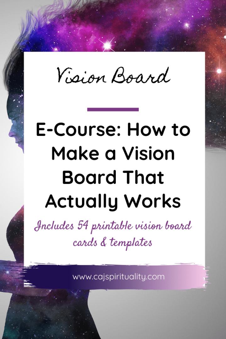Vision Board ecourse