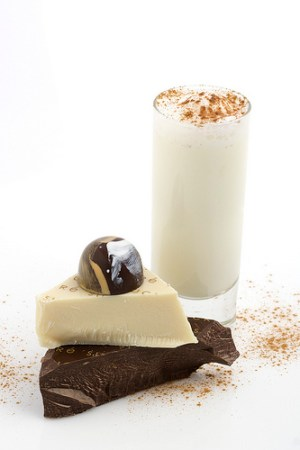 Eggnog Dark Chocolate Truffle
