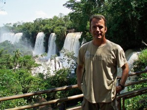 Water falls image