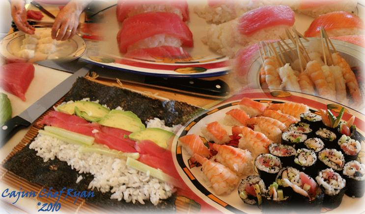 Sushi Montage