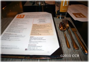 Thirteen Restaurant Menu